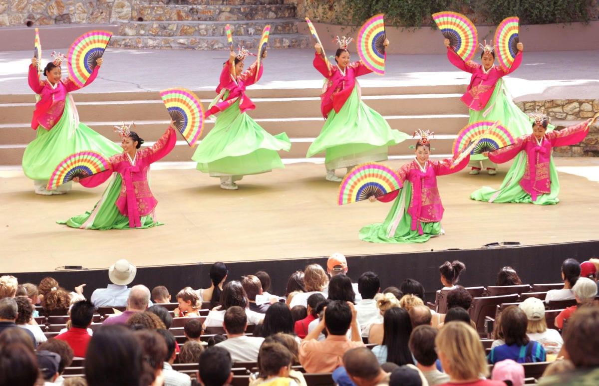 Levitt Pavilion LA: Silk Road Dance Show