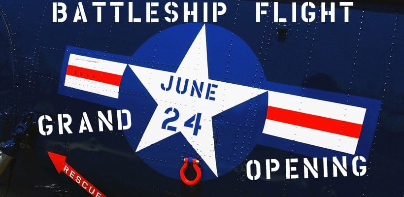 "Grand Opening ""Battleship Flight: A Naval Aviation Experience"" Exhibit"