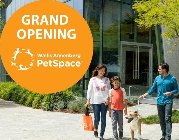 Wallis Annenberg PetSpace Grand Opening