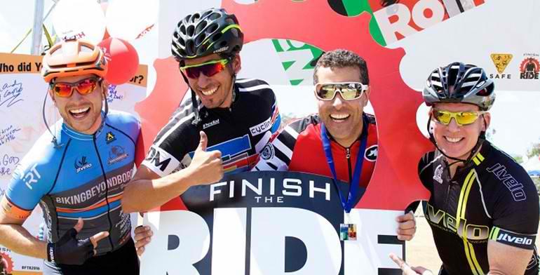 Finish The Ride Across Santa Clarita