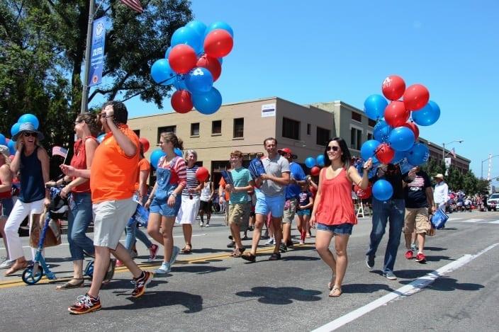 South Pasadena Library's Festival of Balloons Parade