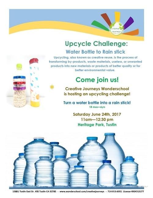 Upcycle Challenge & Open House at Creative Journeys Wonderschool