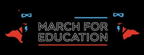 Student Expo & March for Education