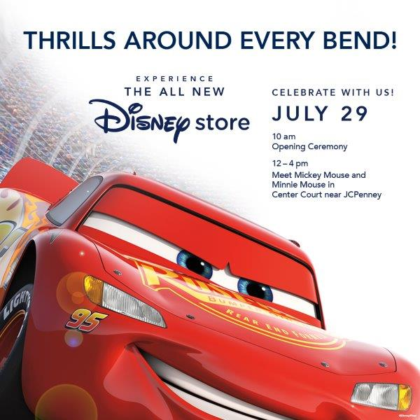 The Disney Store Grand Re-Opening in Northridge