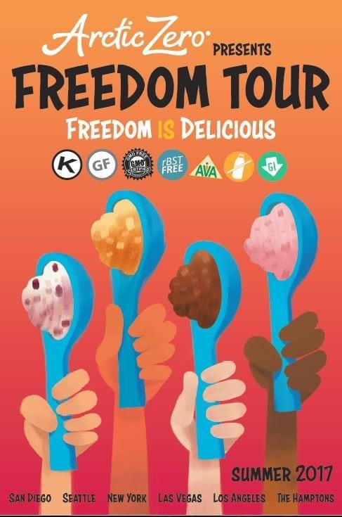 Arctic Zero Freedom Tour
