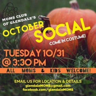 MOMS Club of Glendale's Monthly Social