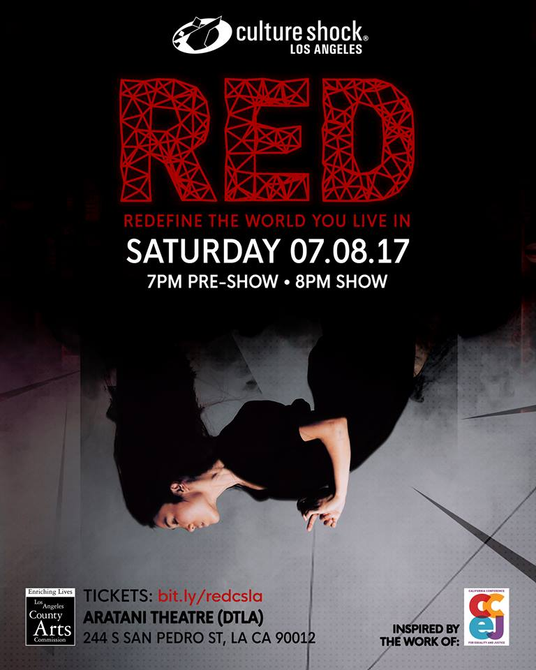 """RED"" A Dance Benefit Show Presented by Culture Shock LA"