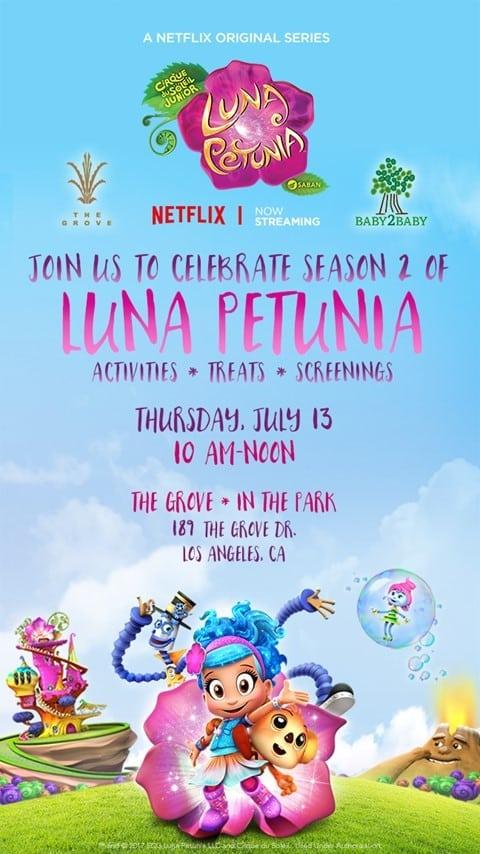 Luna Petunia Season 2 Screening at The Grove