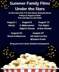 Summer Family Films Under the Stars