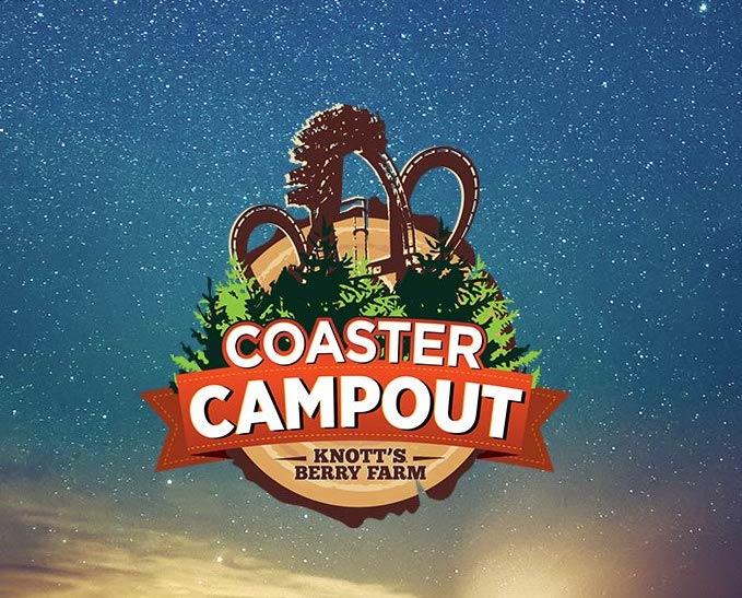 Knott's Berry Farm's Coaster Campout