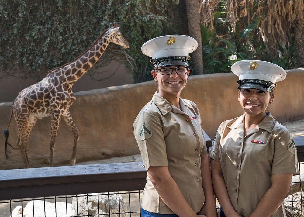 L.A. Fleet Week Opening Day at the LA Zoo