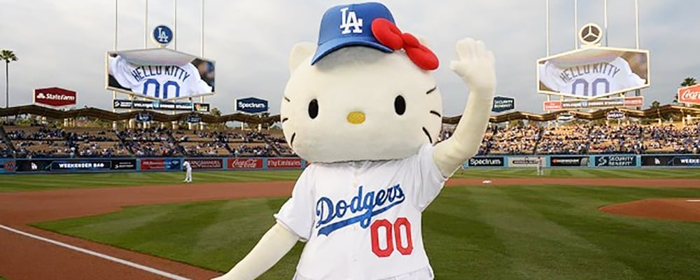 Hello Kitty Night At Dodger Stadium