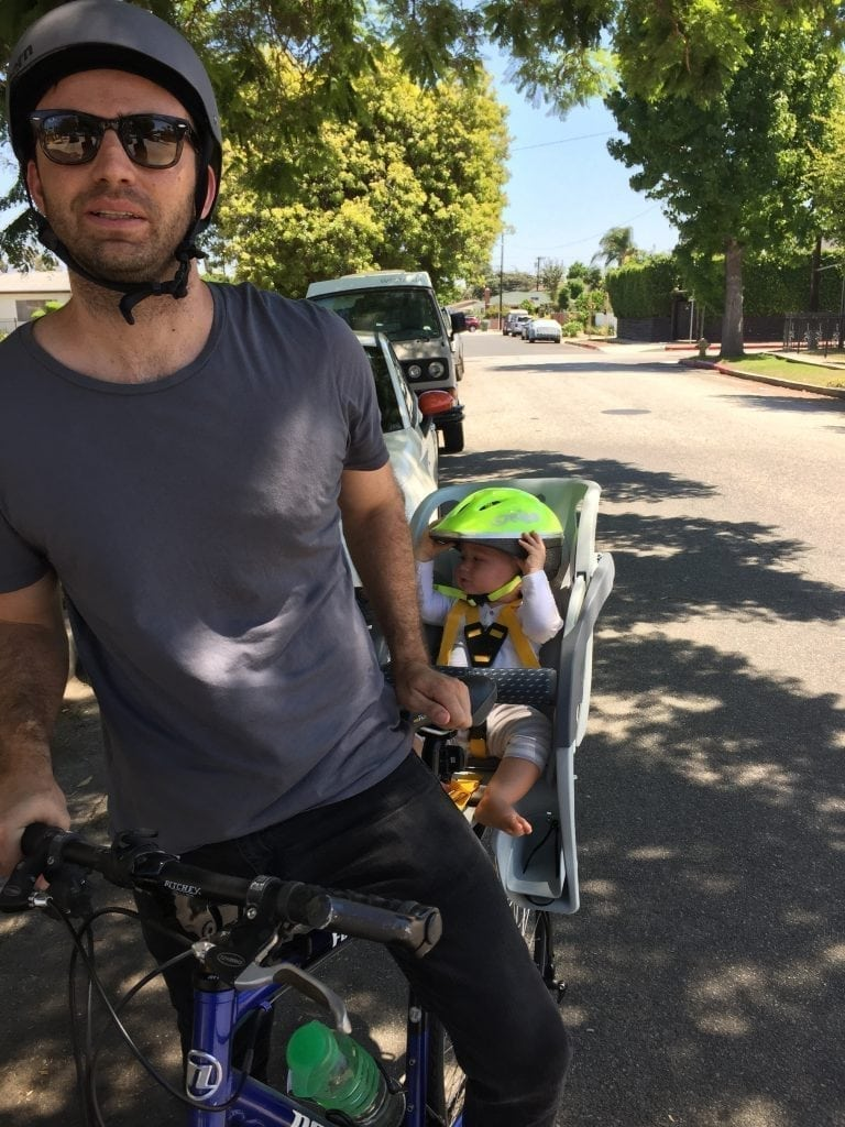 cycling with kids in la