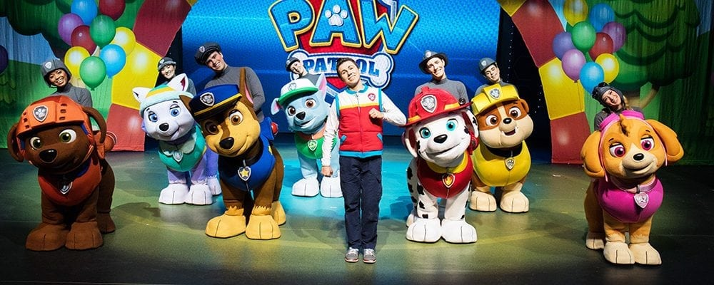 """PAW Patrol Live: """"Race To The Rescue"""""""