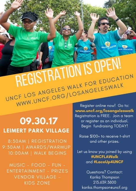United Negro College Fund's Walk for Education
