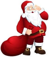Santa at the Adobe