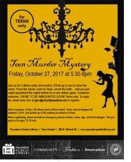 Teen Murder Mystery