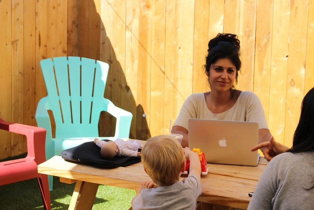 kid-friendly work spaces