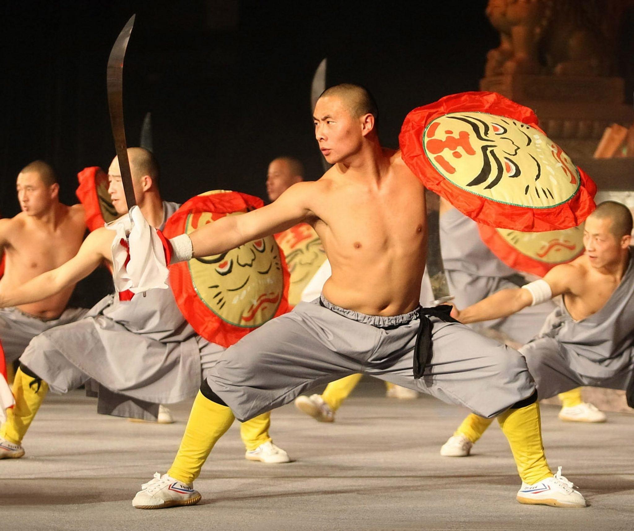 Martial Artists and Acrobats of Tianjin, People's Republic of China