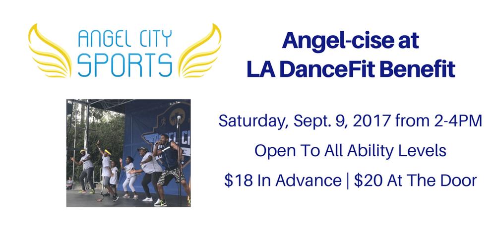 Angel-cise at LA DanceFit Benefit