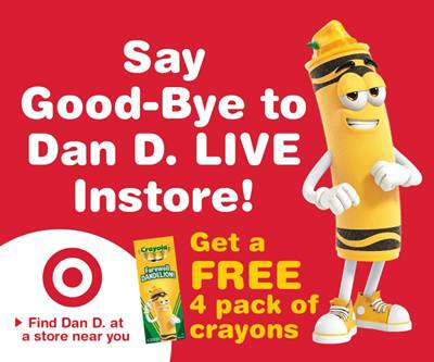 Crayola Presents Dandelion's Retirement Tour
