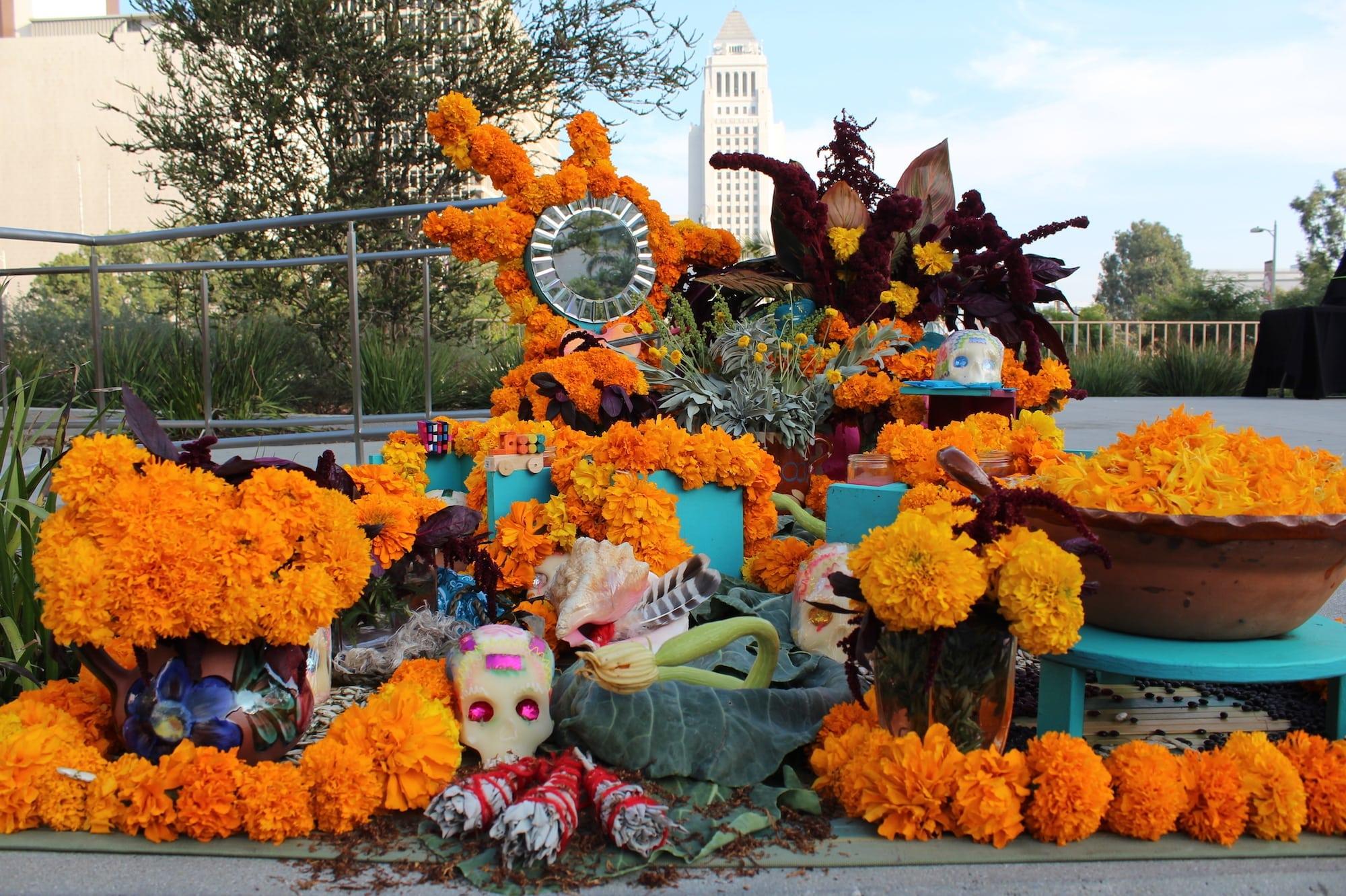 Grand Park's Dia de los Muertos Celebration