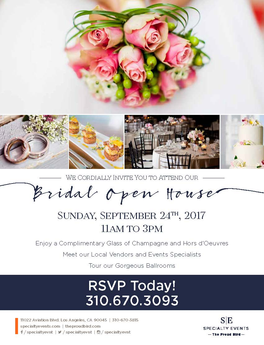 Bridal Open House at The Proud Bird