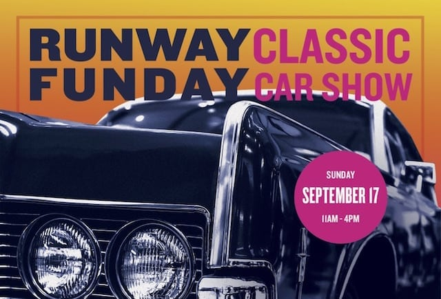 Runway Funday: Cool Car Show + GoKarts