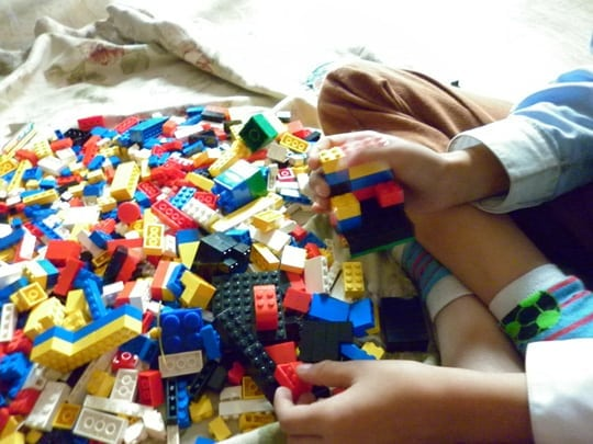 Legos and Games at the Santa Monica Public Library