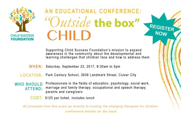 Child Success Foundation Educational Conference