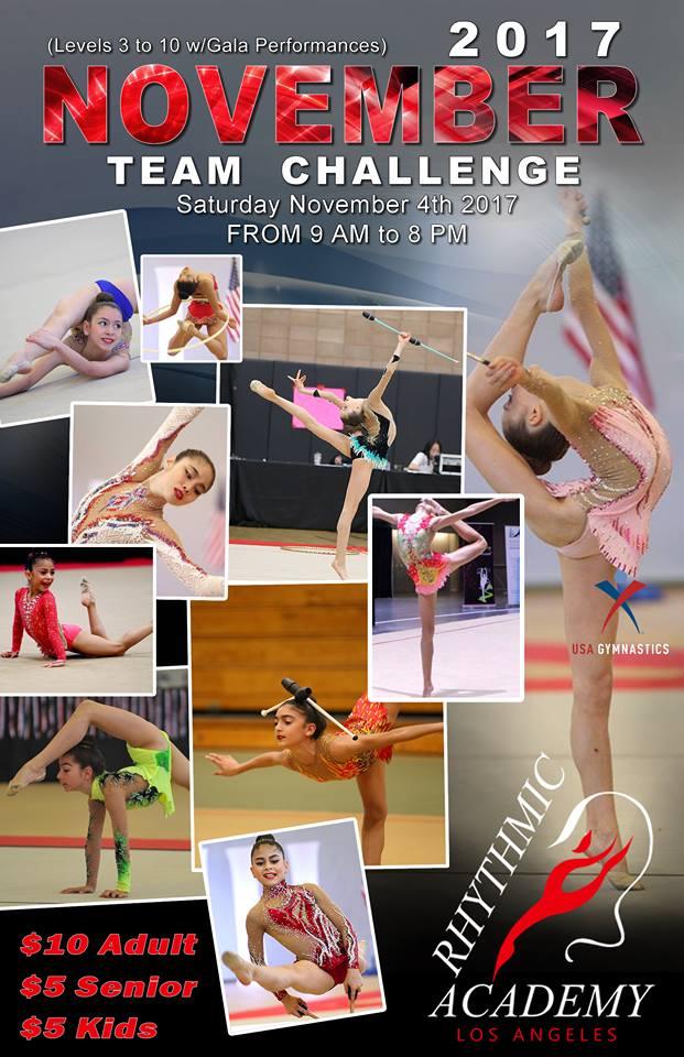 2017 November Team Challenge & Gala Performances