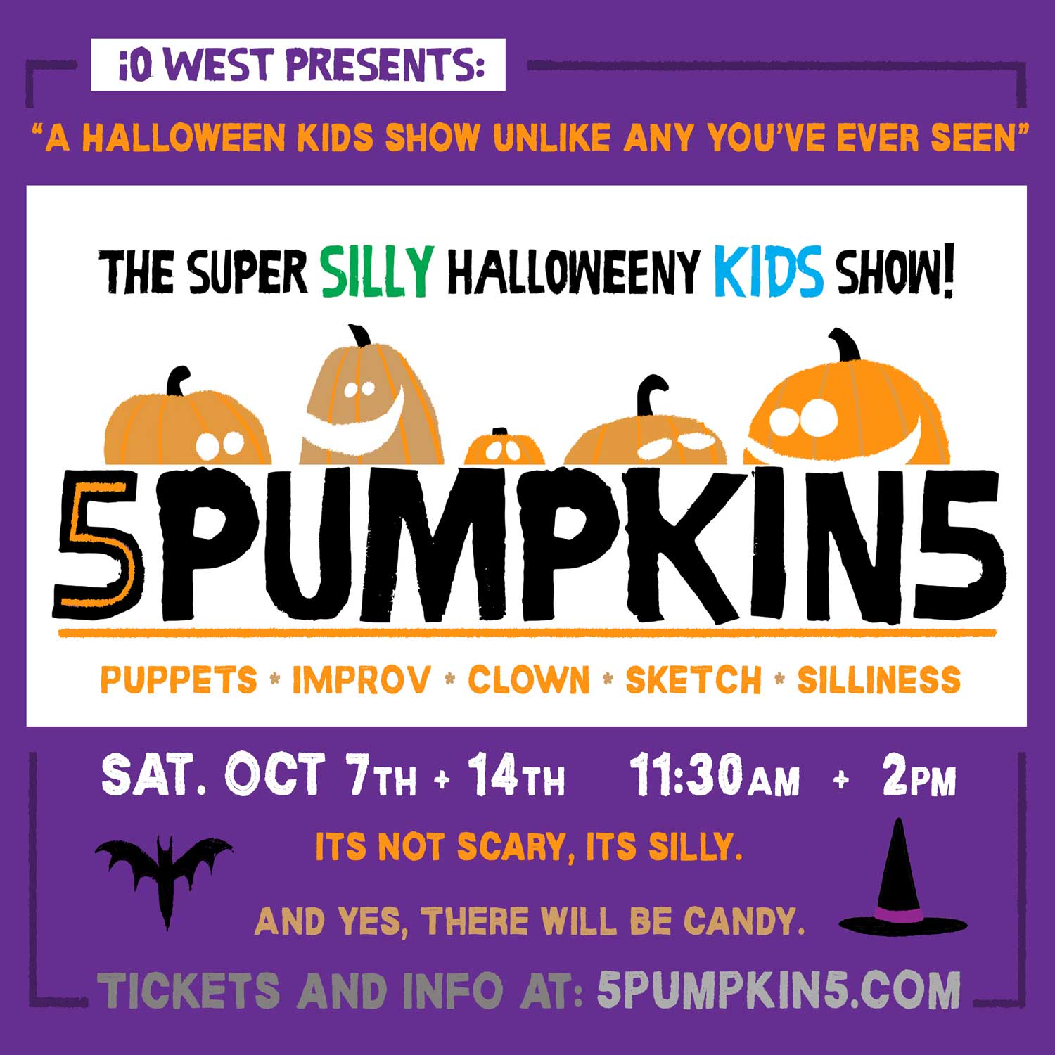 5PUMPKIN5: The Super Silly Halloweeny Kids Show