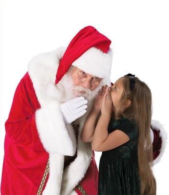 Caring Santa at Del Amo Fashion Center