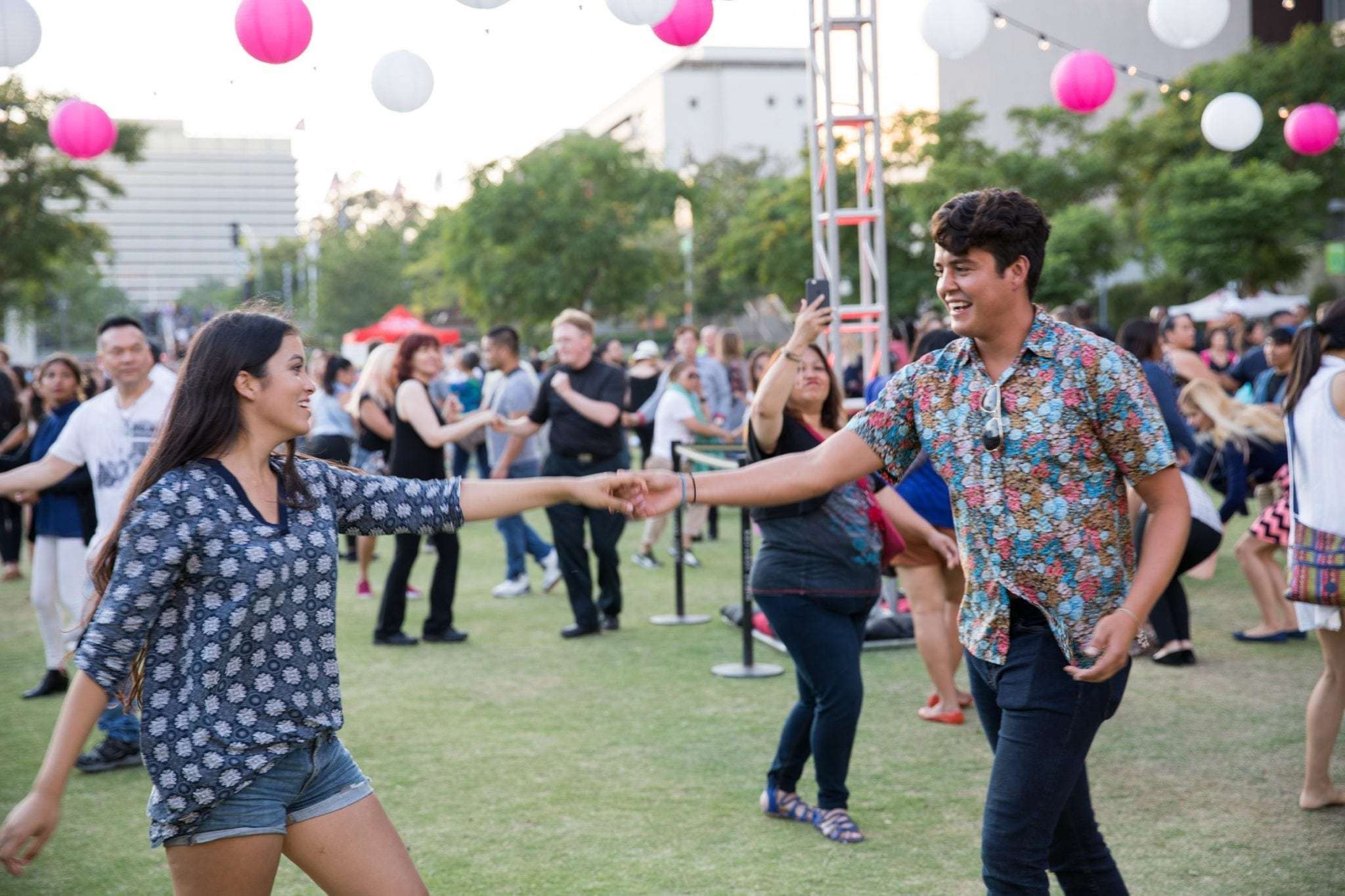 The Music Center's Afro-Cuban Workshops In Grand Park
