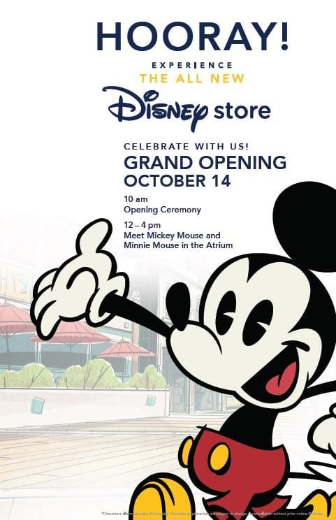 Disney Store Grand Opening at Westfield Century City