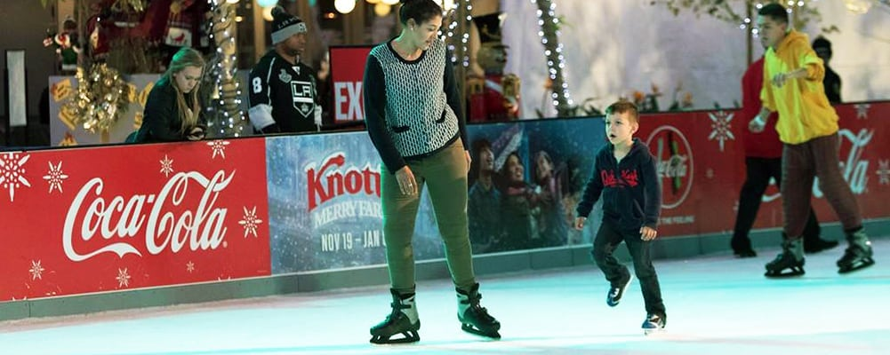 L.A. Kings Holiday Ice at L.A. Live