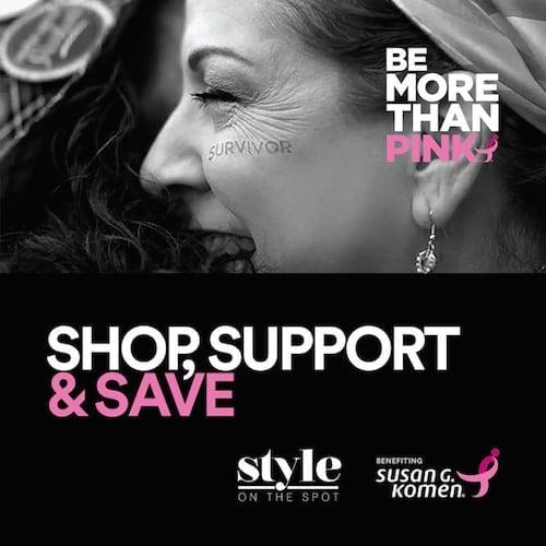 Be More Than Pink With Susan G. Komen