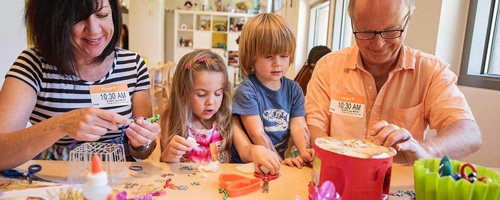 Skirball's Family Art Studio