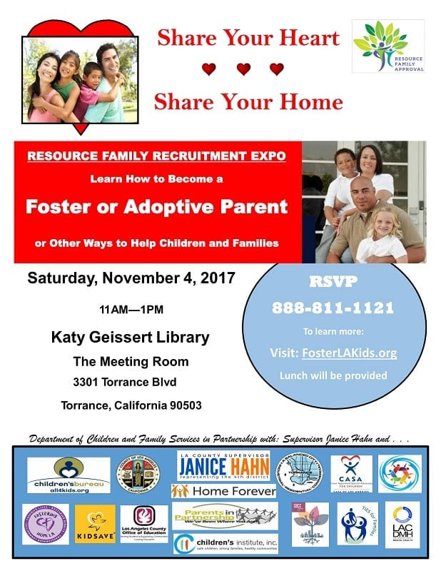 Foster and Adopt Informational Event