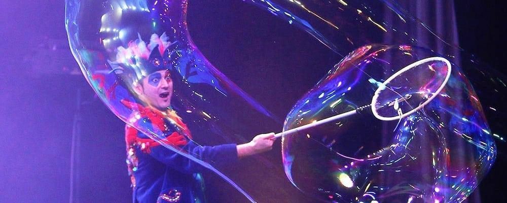 Underwater Bubble Show