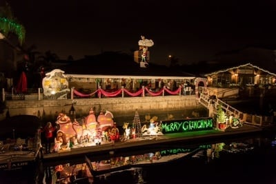 Huntington Harbour's Cruise of Lights