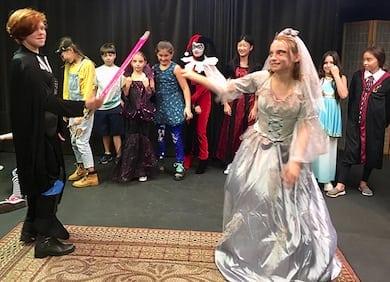 Halloween Comedy Kids Improv Show