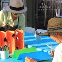 LACMA On-Site Family Workshop: Book Art