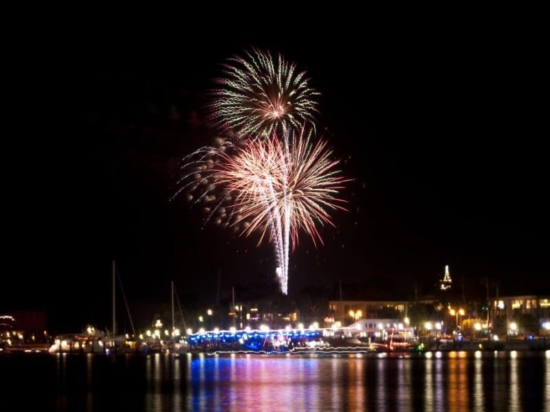 Marina del Rey's New Year's Eve Fireworks