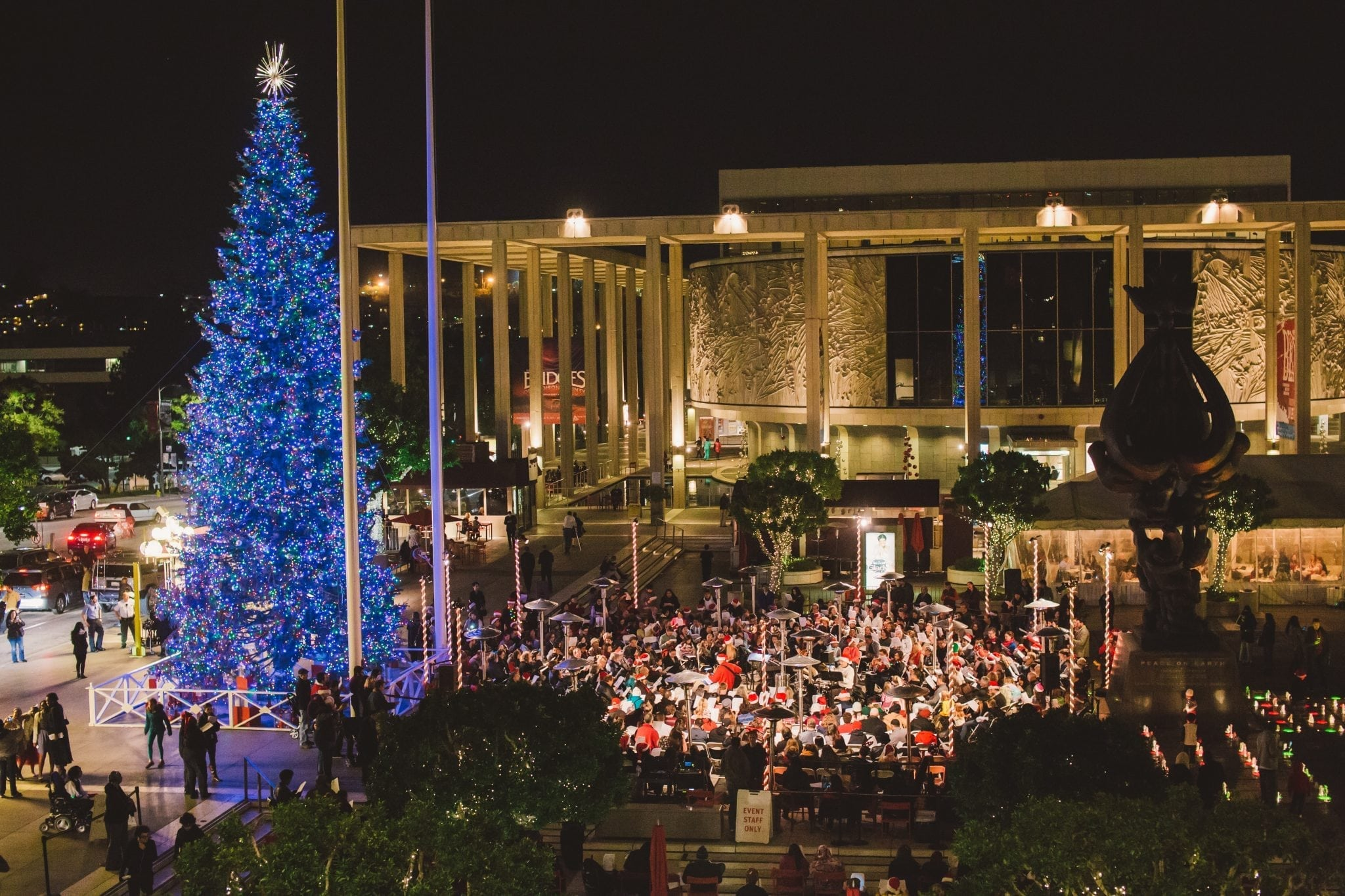 Los Angeles County Tree Lighting