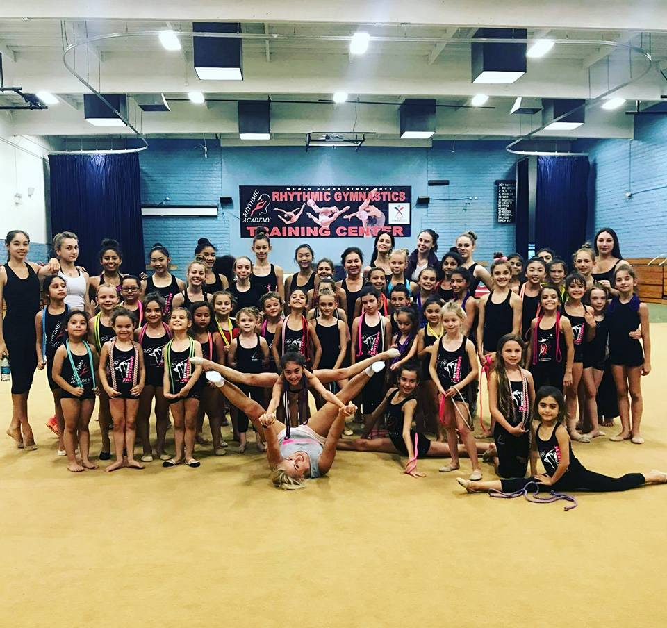 Rhythmic Academy's Winter Holiday Gymnastics Show