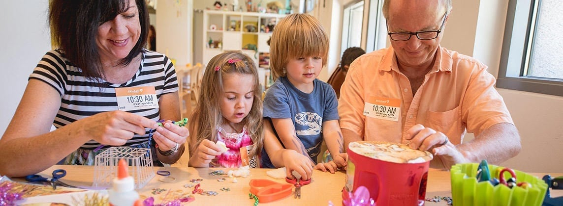 Skirball's Family Art Studio