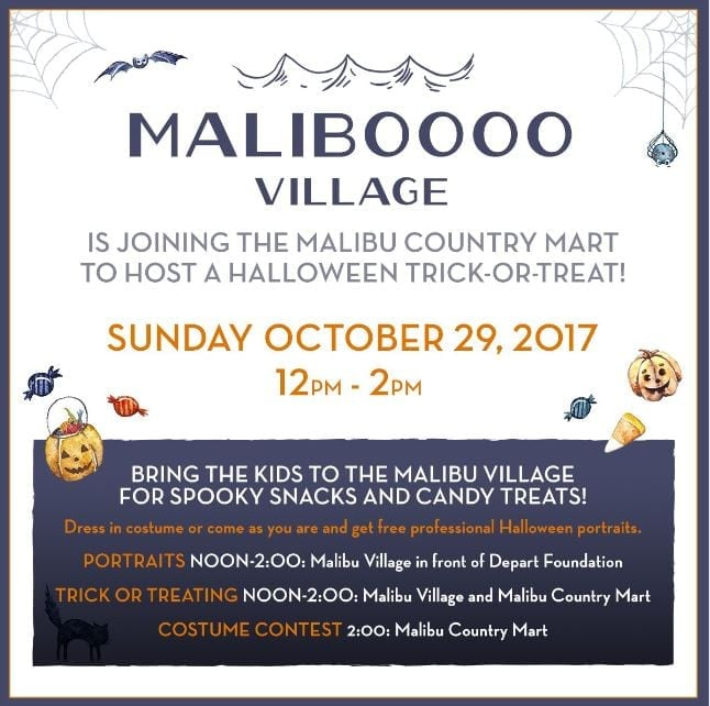Trick or Treat at Maliboooo Village