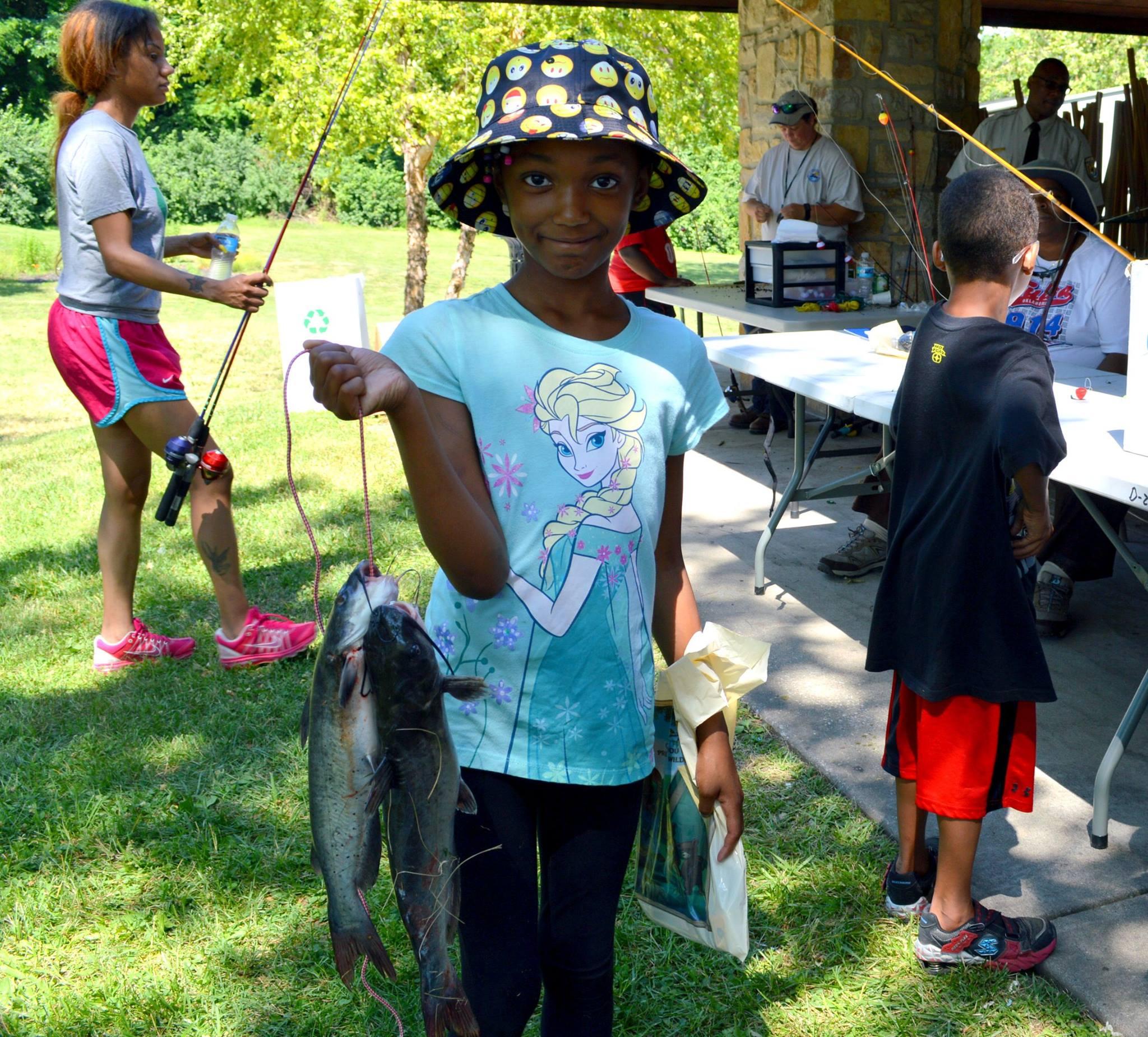 Urban Kids Fishing Derby LA