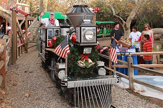 Irvine Park Railroad's Christmas Train